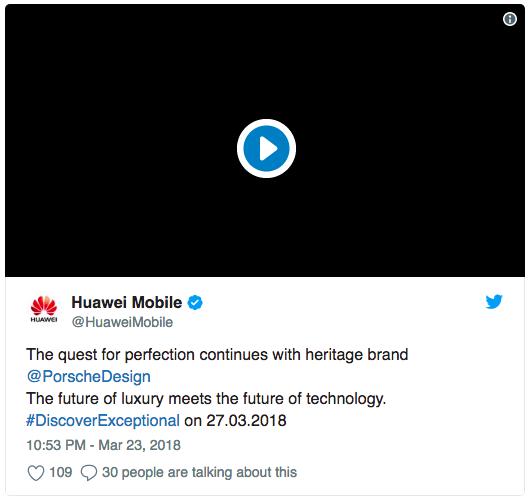 Huawei P20: досрочная утечка характеристик