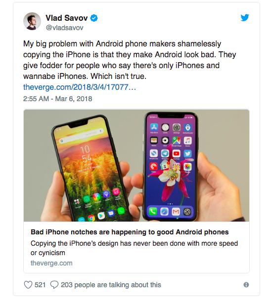 Смиритесь, OnePlus 6 точно получит вырез вверху экрана