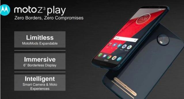 Moto Z3 Play: характеристики смартфона с сайта FCC