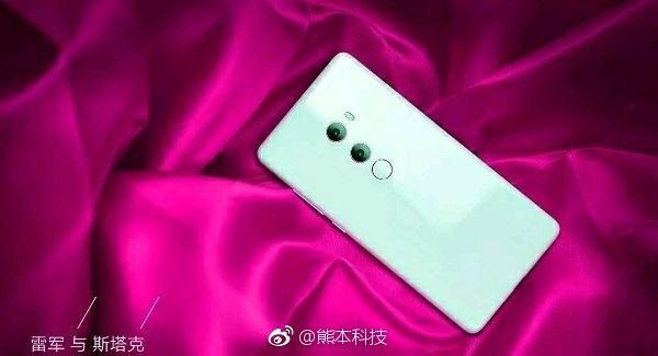 Новые рекламные изображения Xiaomi Mi MIX 2S