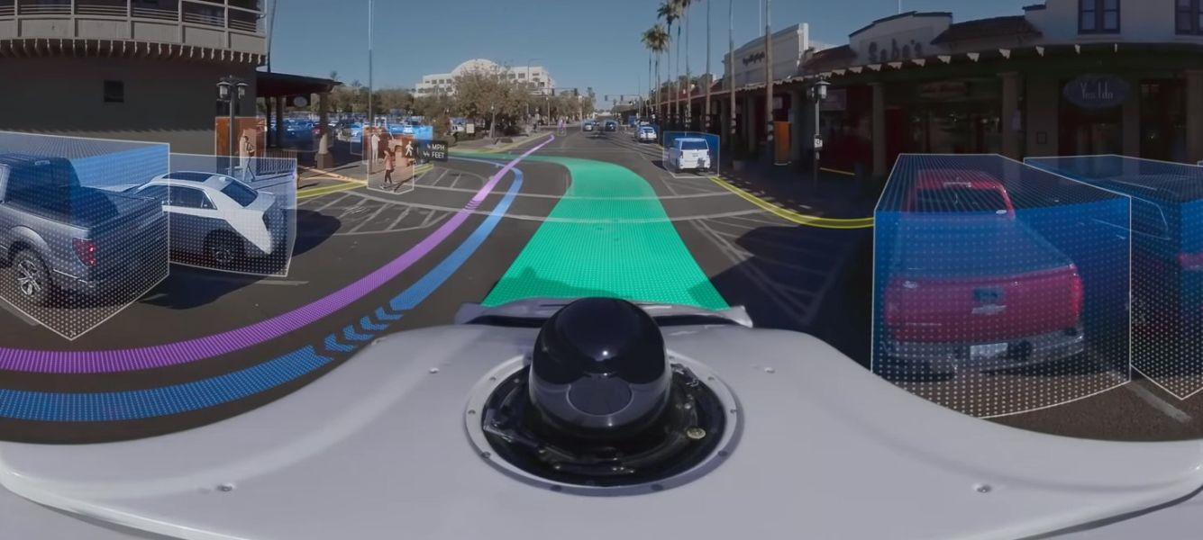 Waymo наглядно демонстрирует работу автопилота в автомобилях