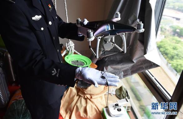 Китайская полиция задержала высокотехнологичных и очень изобретательных контрабандистов