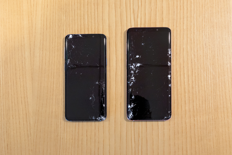 Samsung Galaxy S9/S9+ прочнее предшественников и iPhone X