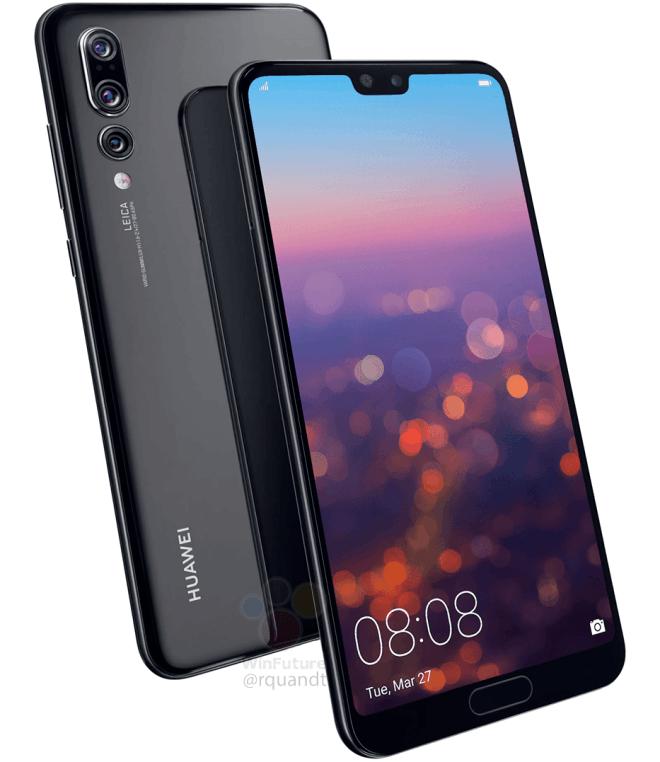 Huawei P20 Pro уже распаковали