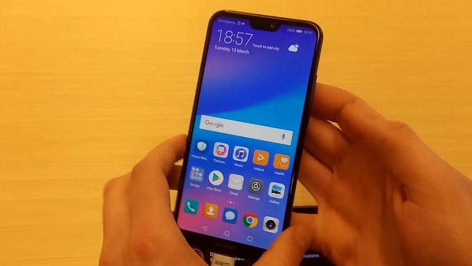 Huawei P20 Lite показали на видео и в рекламном ролике
