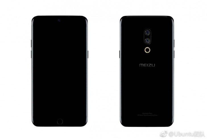 Meizu патентует технологию размещения фронтальной камеры под дисплеем смартфона
