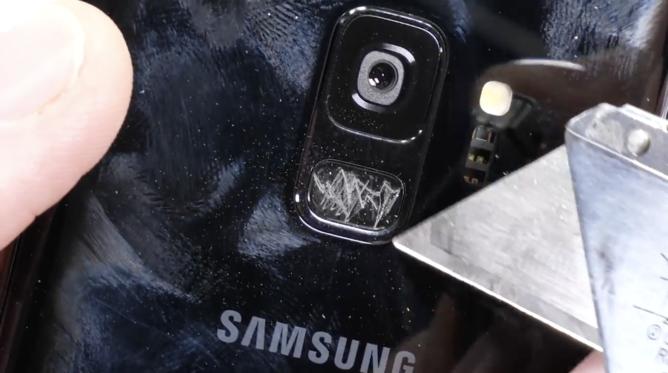 Samsung Galaxy S9 выжил в тесте на прочность