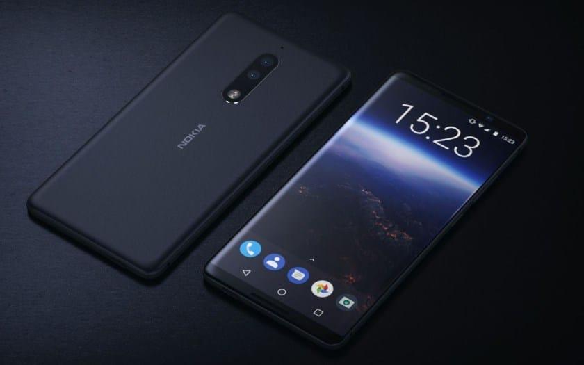 Nokia 9: монобровь от iPhone X и дисплейный датчик отпечатков пальцев