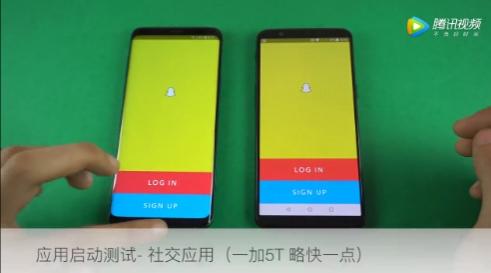 Samsung Galaxy S9+ против OnePlus 5T в тесте на скорость работы