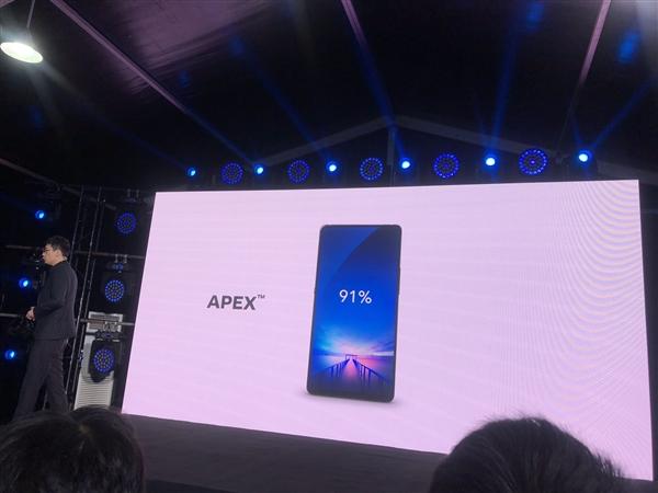 Vivo APEX не станет полноэкранной сенсацией
