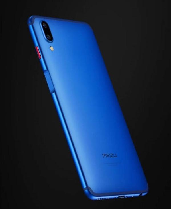Meizu E3 в синем цвете показали на рендерах