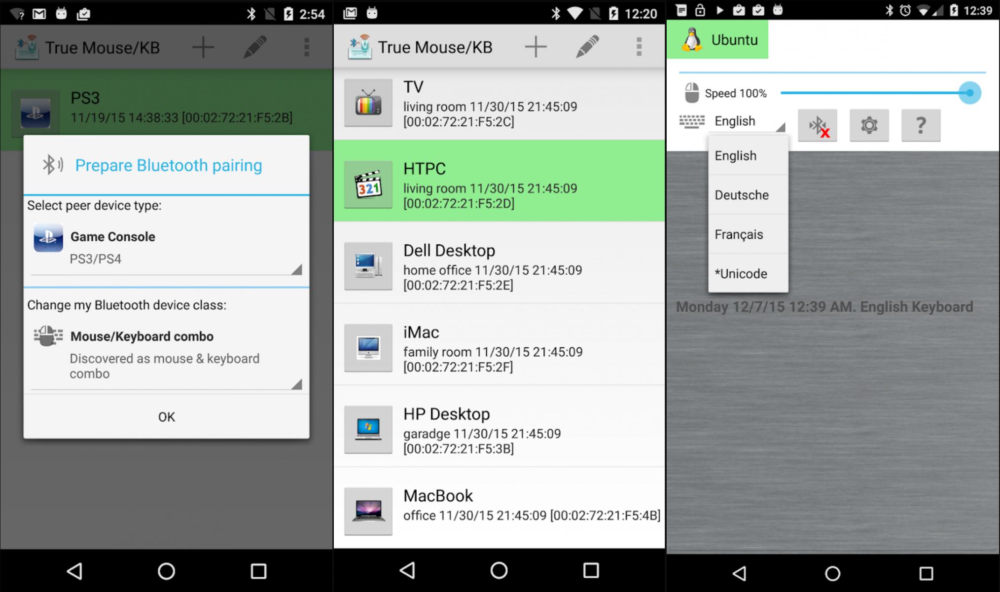 Android P даёт возможность использовать смартфон в качестве клавиатуры и мыши
