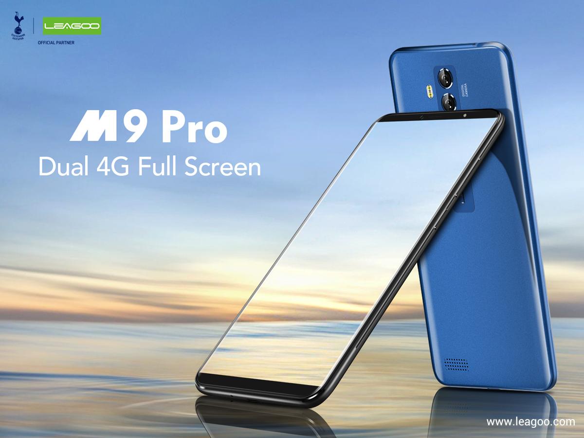 Leagoo M9 Pro: по последней смартфонной моде и всего за $81,99