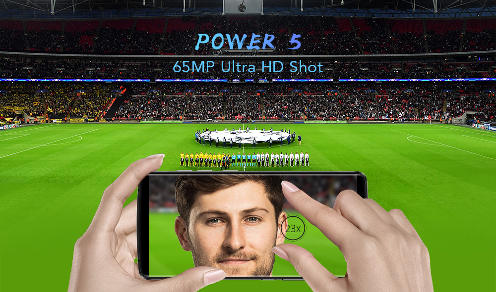 Leagoo Power 5: аккумулятор на 7000 мАч и поддержка 65 Мп Ultra-HD