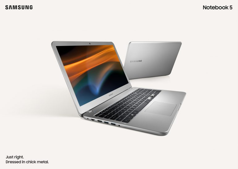 Samsung представила Notebook 3 и Notebook 5 с процессорами Intel 8-го поколения