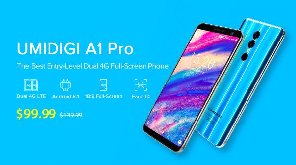 UMIDIGI A1 Pro: характеристики, цена и скидка на старте продаж