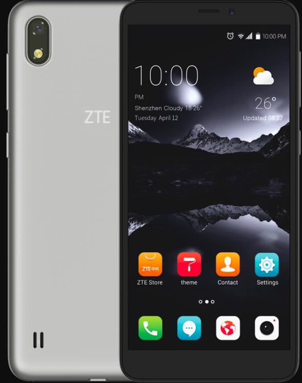 Анонс бюджетного ZTE Blade A530