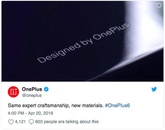 Открыт набор тестеров для OnePlus 6 и загадки с материалом корпуса