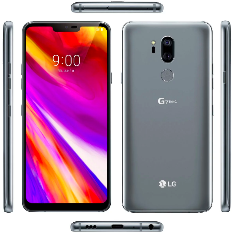 LG G7 ThinQ на новом рендере и LG отчиталась о падении продаж смартфонов