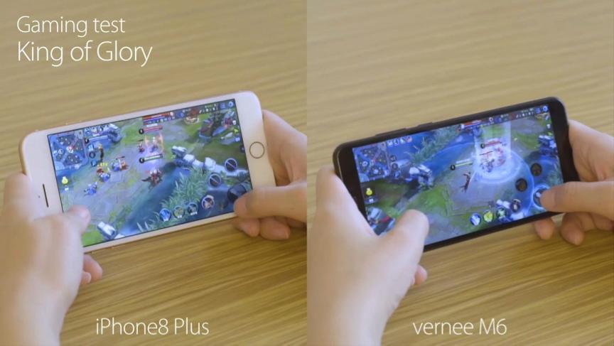 Vernee M6 бросает вызов iPhone 8 Plus