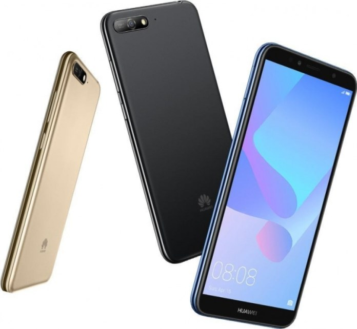 Вышел бюджетный Huawei Y6 (2018)