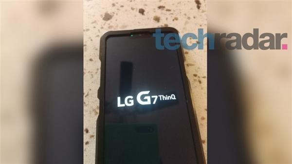 В сеть слили шпионские снимки LG G7 ThinQ