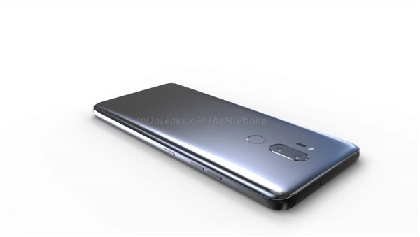 В сеть выложили 3D-рендеры LG G7
