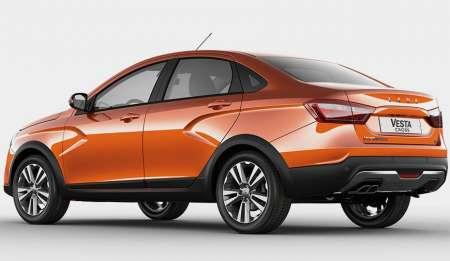 Сколько будет стоить Lada Vesta Cross сообщил АвтоВАЗ