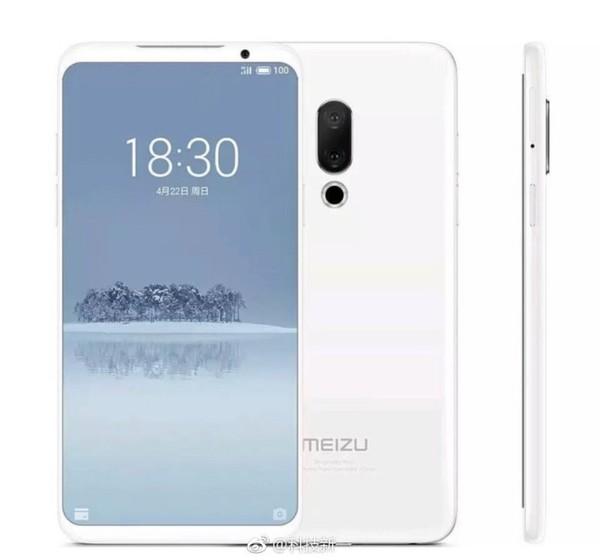Meizu 16 позирует на фото