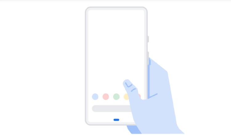 Это изображения Google Pixel 3. И он почти безрамочный