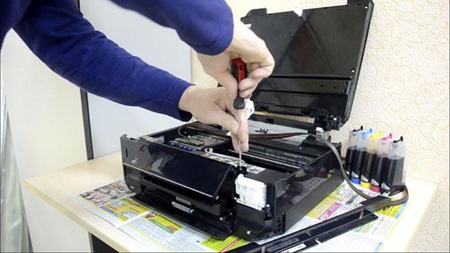 Быстрый и качественный ремонт струйных принтеров