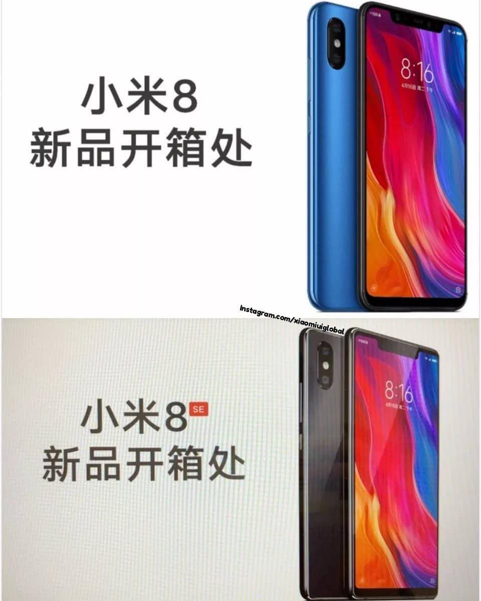 Сводка финальных утечек о Xiaomi Mi 8 и Mi 8 SE за этот день