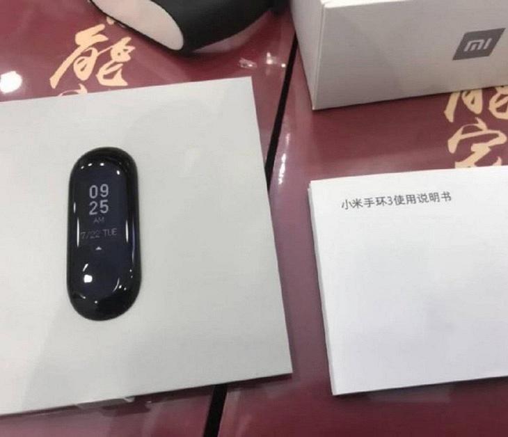 Xiaomi Mi Band 3 на «живом» фото за день до презентации