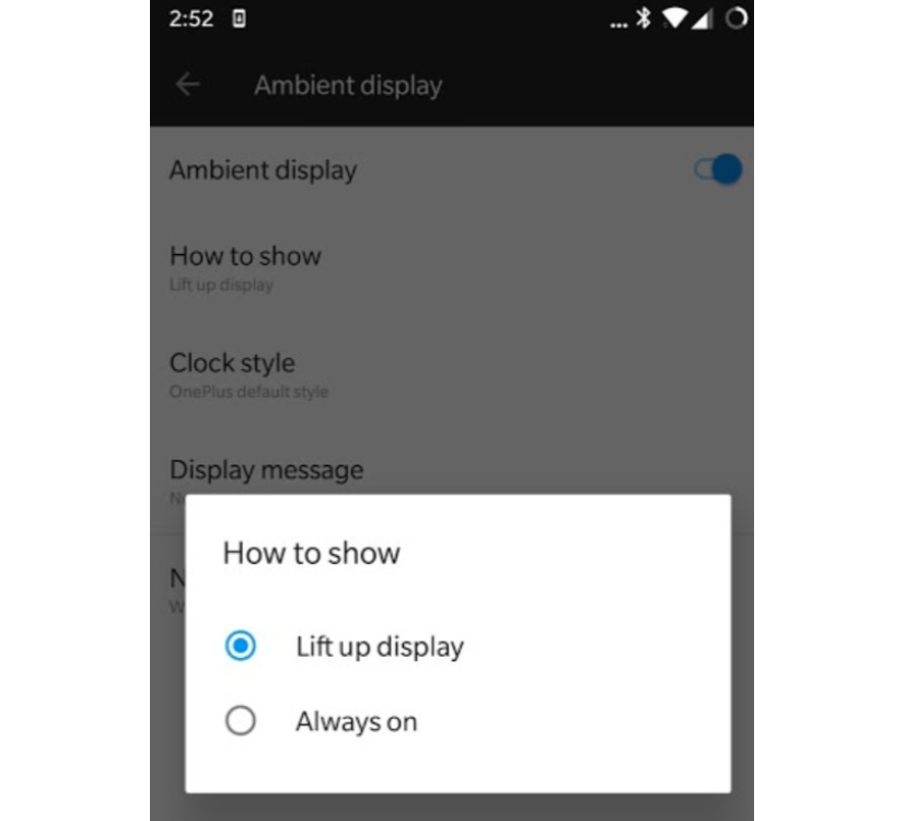 OnePlus 6 лишился функции Always On Display