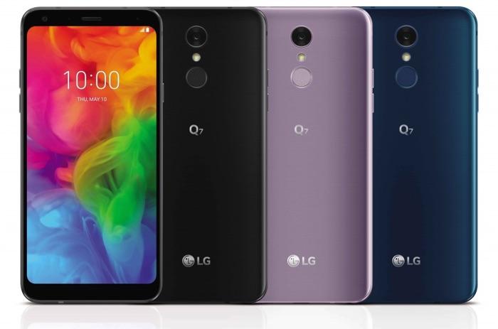 Представлены смартфоны LG Q7, LG Q7a и LG Q7+ с FullVision-экраном