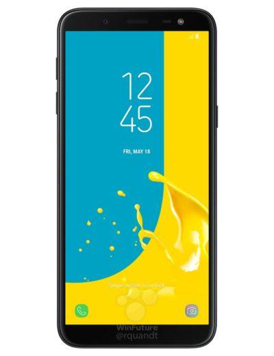 Samsung Galaxy J6 показали на промо-изображениях