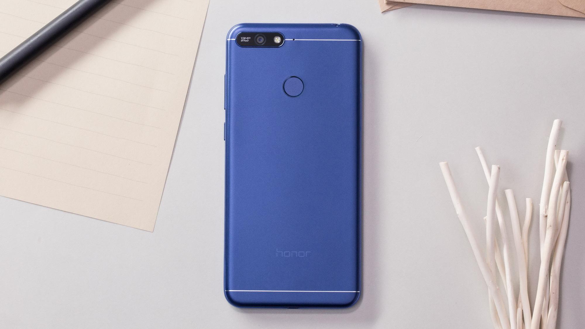 Обзор на бюджетный смартфон Huawei Honor 7A Pro