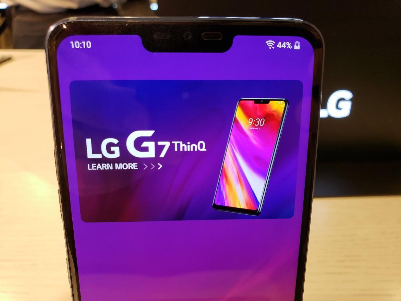 Догадайтесь, как LG объяснила появление моноброви в G7 ThinQ?