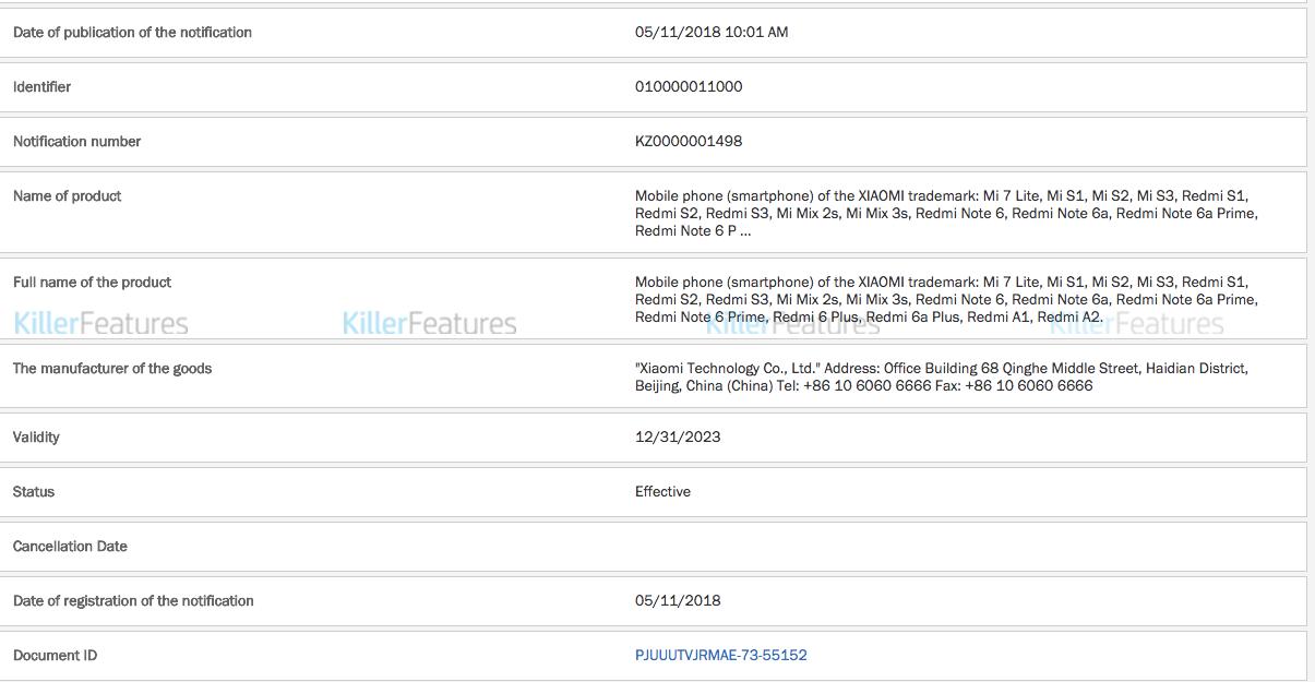 Список смартфонов Xiaomi, которые могут выйти на рынок в будущем