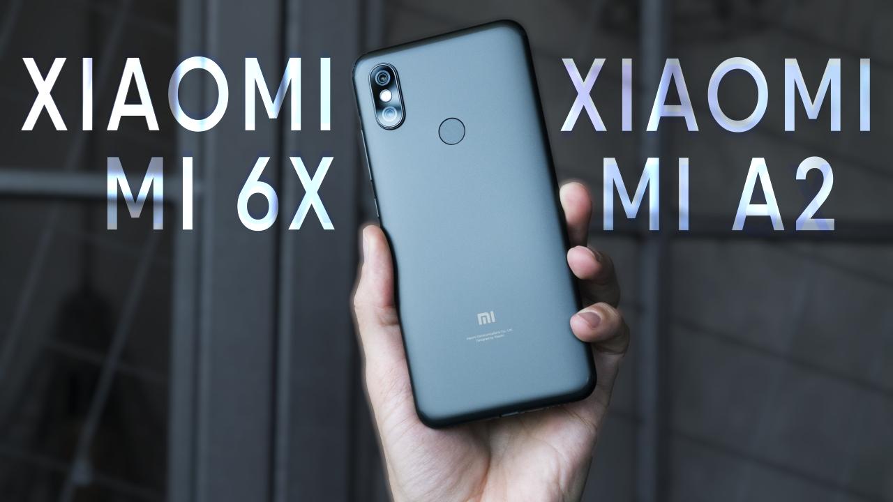 Видеообзор Xiaomi Mi 6X и сравнение с Xiaomi Redmi Note 5