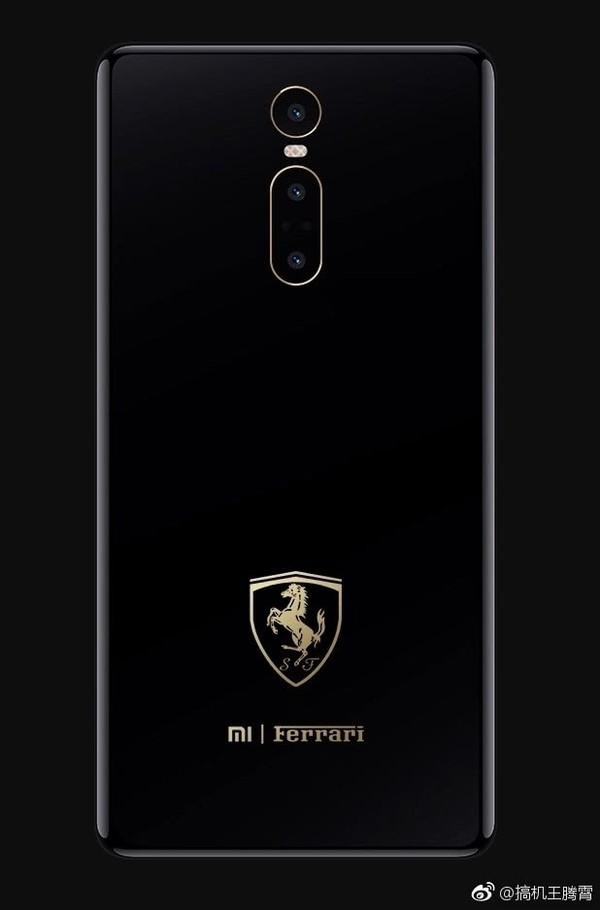 Концепт Xiaomi Mi Mix 3 Ferrari Edition