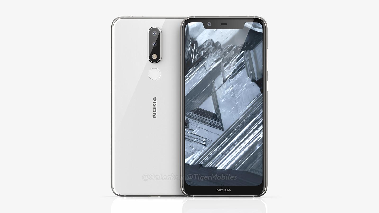 Характеристики Nokia 5.1 Plus: дисплей с «монобровью» и двойная камера