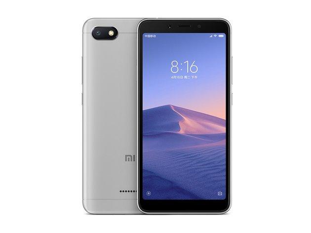 Представлен Xiaomi Redmi 6A: ультрабюджетка до $100 на MediaTek