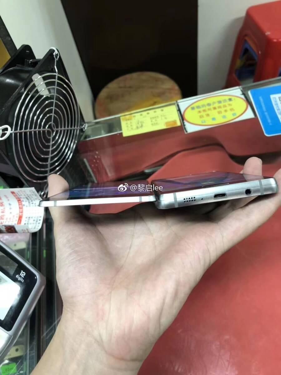 Секретный прототип складного Samsung Project V засветился на фото