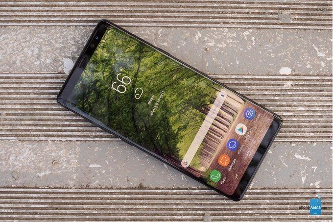 Samsung Galaxy Note 9 хотят сделать тоньше