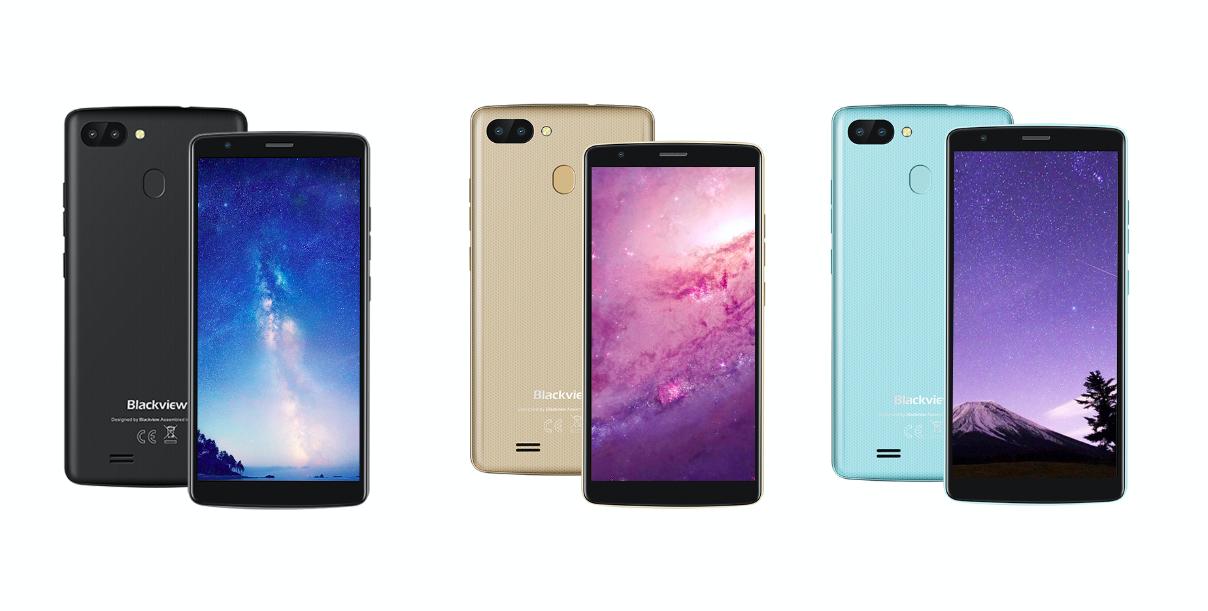 Вышел бюджетный Blackview A20 Pro с Android 8.1 Oreo