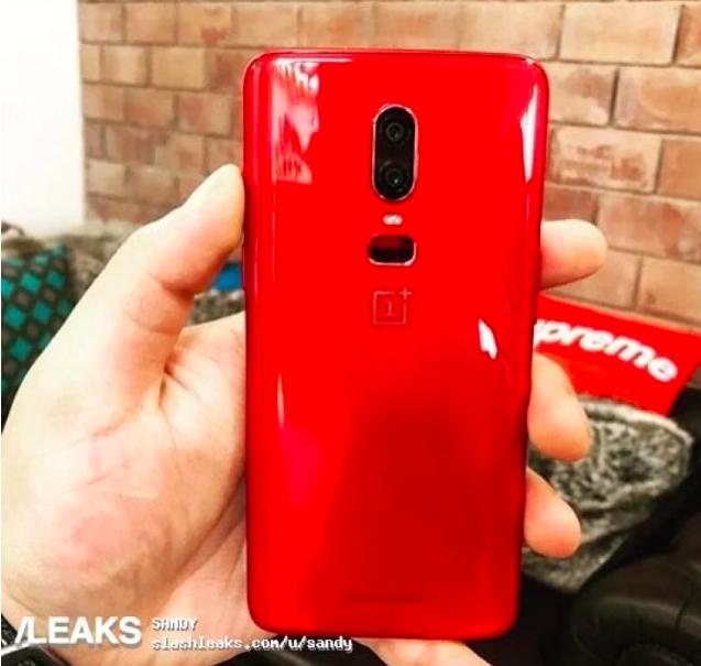 OnePlus 6 оденется в красный