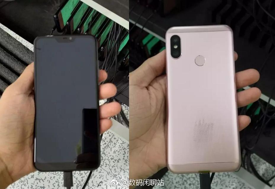 Xiaomi Redmi 6 на «живом» фото