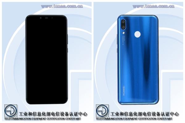 Изображения Huawei Nova 3 с сайта TENAA