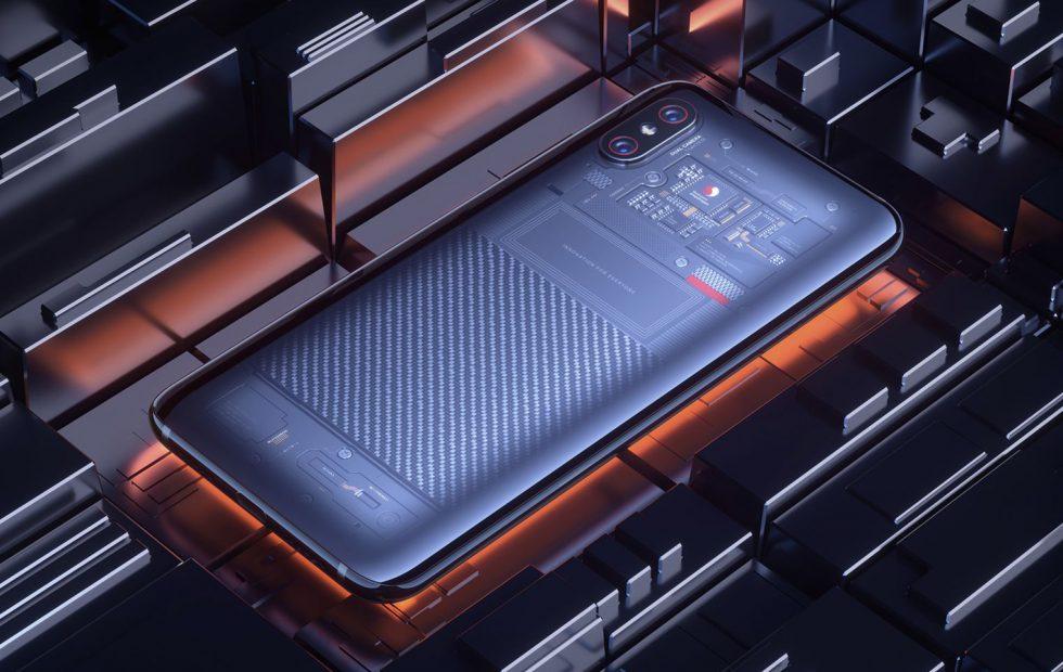 Xiaomi Mi8 Explorer Edition получил дисплейный датчик от Synaptics